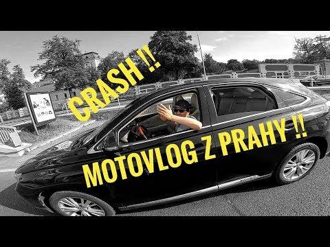 MOTOVLOG z Prahy #24 - Co mam za gumy / Crash / Zatáčky v Praze / Plechovkáři
