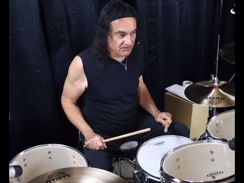 "video posted of Vinny Appice playing DIO songs ""Straight Through The Heart"" + Stand Up And Shout"