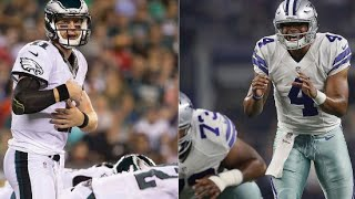 Who will play better in Week 1? Dak Prescott or Carson Wentz? 2016 NFL Discussion