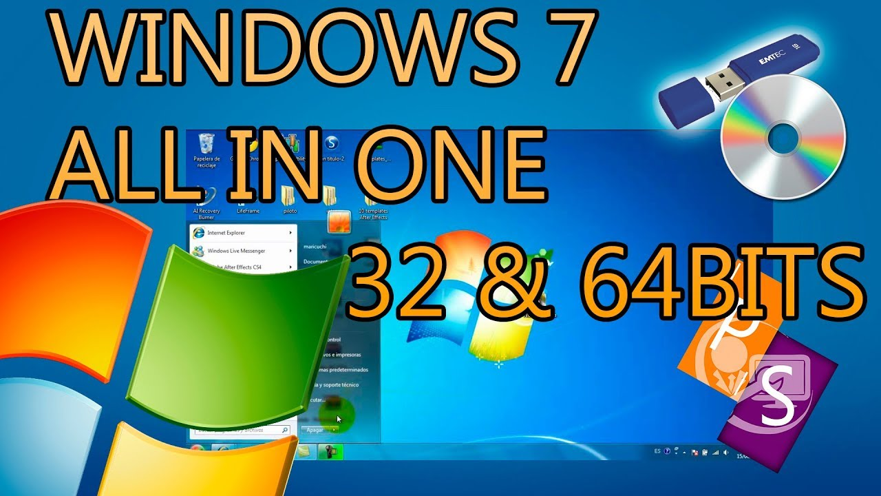Descargar windows 7 ultimate 32 bits español booteable iso