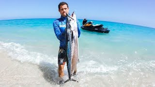 YBS Lifestyle Ep 46 - Crazy Day Bluewater Spearfishing From Jetski | Catch And Cook