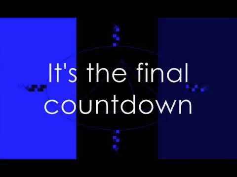 Europe - The Final Countdown (with lyrics)
