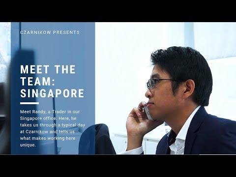 Meet the team - Randy, Trader, Singapore