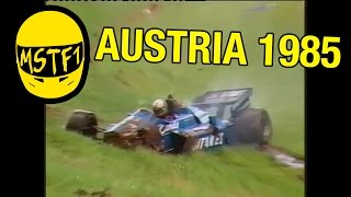 1985 Austrian Grand Prix – Mystery Science Theater F1