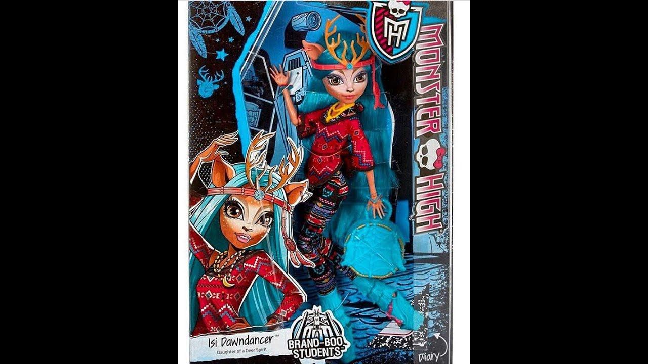 Обзор куклы Монстер хай Изи Даундэнсер (Monster High Isi .