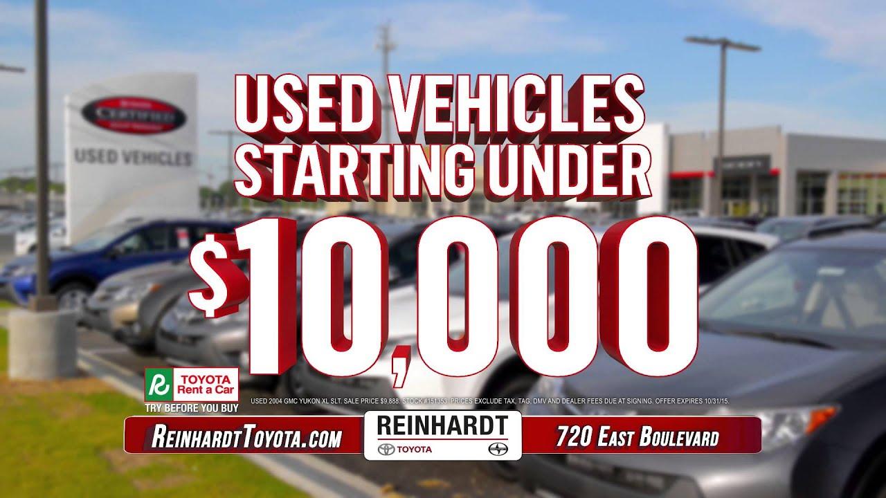 Preowned Vehicles At Reinhardt   Montgomery, AL   Weu0027ve Got It All. Reinhardt  Toyota