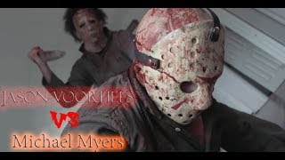 Michael Myers Versus Jason Voorhees 2018! Майкл Майерс Против Джейсона Вурхиза 2018 - перевод!