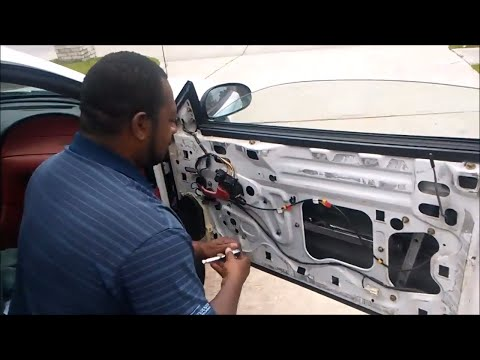 How To Change A Window And Motor Regulator On A Ford Mustang