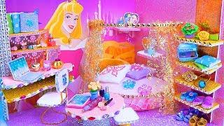 DIY Miniature Dollhouse Room ~ Aurora Room Decor