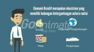 Video Video Perkembangan Ekonomi Kreatif di Indonesia download MP3, 3GP, MP4, WEBM, AVI, FLV November 2018