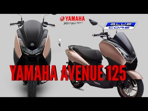 THE NEW! YAMAHA AVENUE 125 IN THE PHILIPPINES 🇵🇭   PH MotorcycleTv