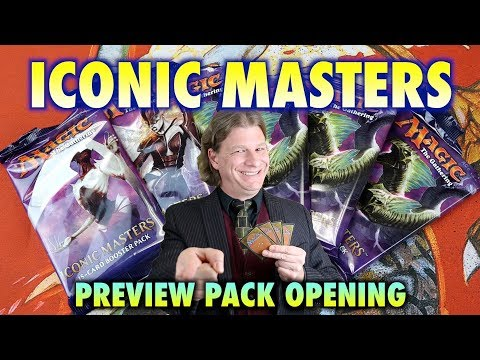 MTG - Iconic Masters Preview Pack Opening of Magic: The Gathering Cards