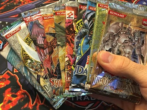 Yu-Gi-Oh! OLD SCHOOL Random Pack Opening - 10 Old School and GX Packs!!!