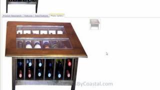 Wine Racks Coffee Table Storage - Reply