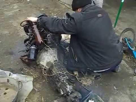 тест-драйв Амфибия ЛуАЗ-967 - YouTube