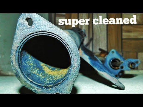 How to clean two stroke exhaust chamber