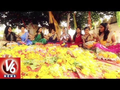 V6 Bathukamma Song 2015 Promo || V6 News