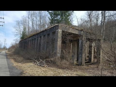 Abandoned ruins New York little Falls.