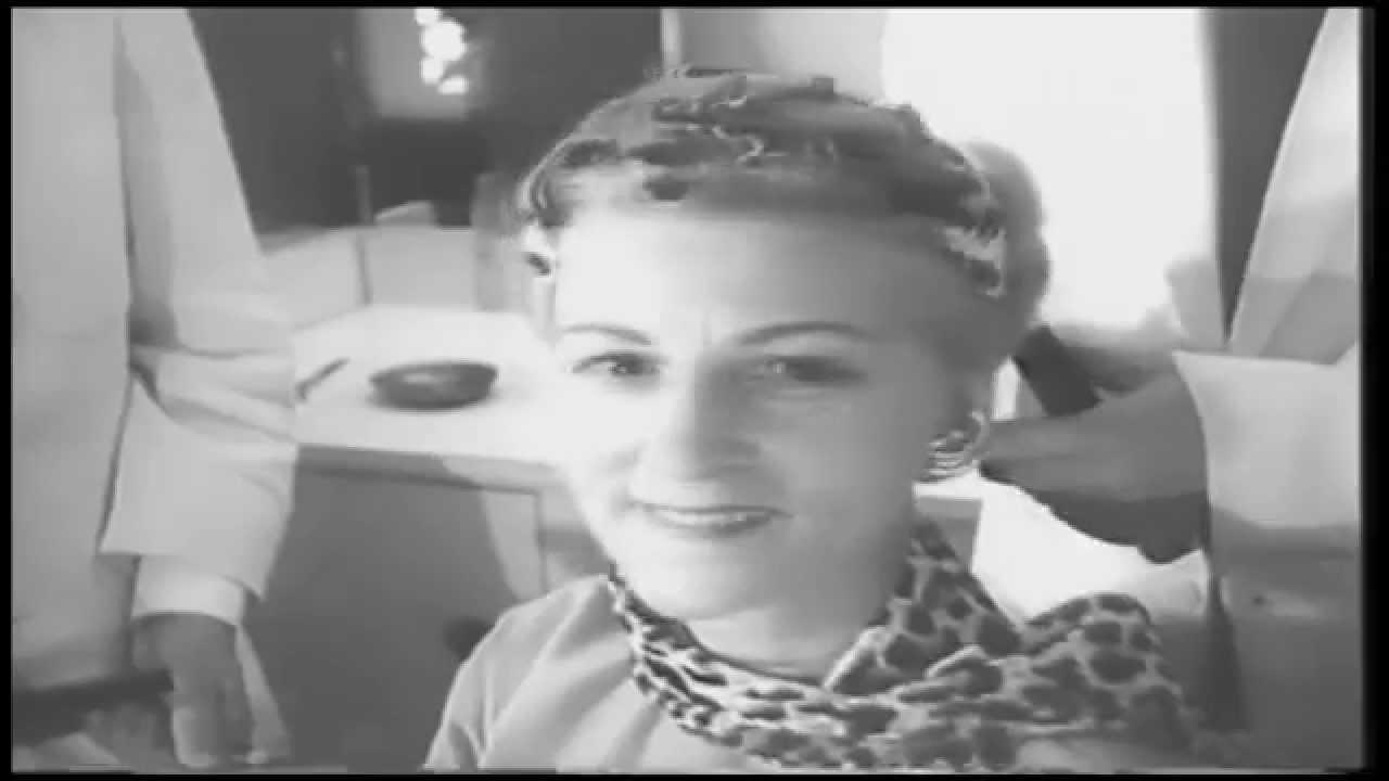 teenage girls hair styles - 1950s