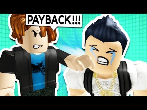 Thumbnail: NOOB GETS REVENGE ON RICH KID IN ROBLOX