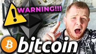EMERGENCY TO ALL BITCOIN HOLDERS  SOMETHING INSANE IS HAPPENING TO BITCOIN RIGHT NOW!!!!!!!!!