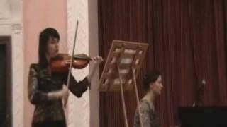 "B.DUBOSARSKY ""CAPRICCIO ALLA RUSTICA""  ANGELA MOLODOJAN (VIOLIN), OLGA COROBENCO (PIANO)"