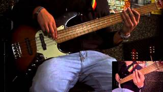 Third World - 96 Degrees in the Shade Bass Cover (with Tabs)
