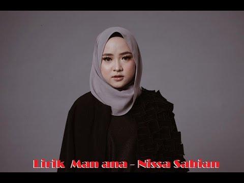 Lirik Man Ana Nissa Sabian