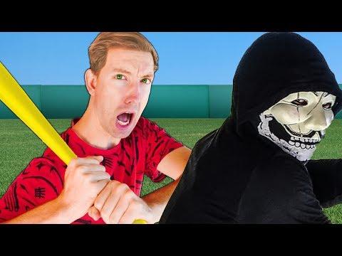 SPY NINJAS BATTLE HACKERS In BASEBALL CHALLENGE All Sports Trick Shots For Daniel's Secret Files