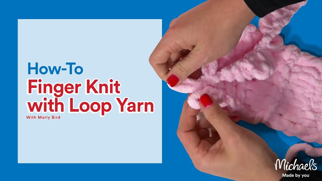 4d4a013c Finger Looping Yarn - Loop it | Michaels
