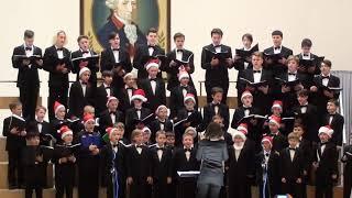 """Jingle Bells (традиционная песня)  -   Детский хор   """"Cantus"""" п/ у А.  Самохваловой"""