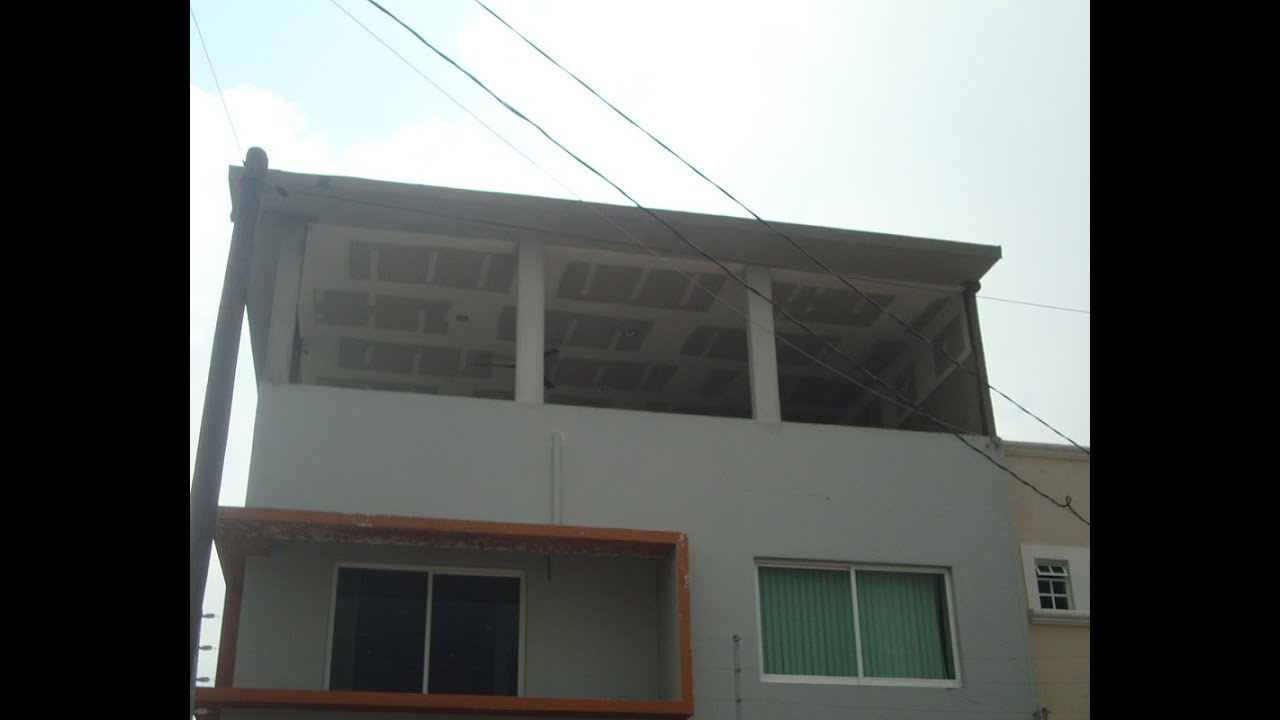 Construcciones para cuartos en azotea y terrazas youtube for Terrazas para patios