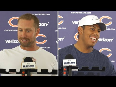 Aguayo, Barth discuss kicking competition