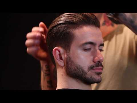 Men's Curly To Straight Hair Tutorial | Brazilian Blowout