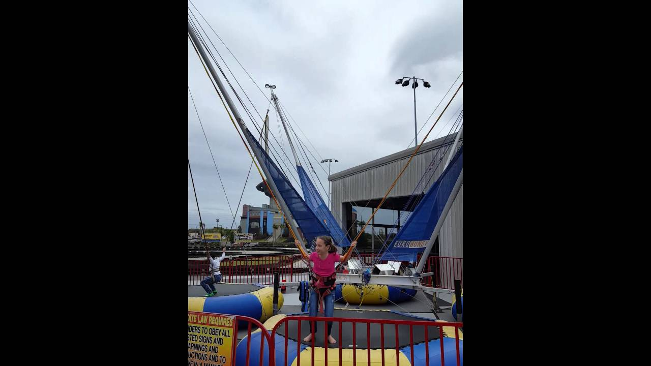 Hailey On Bungee Jump Myrtle Beach