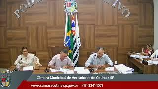Câmara Municipal de Colina - 16ª Sessão Ordinaria 21/10/2019