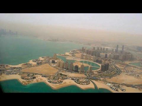 Landing at Hamad International Airport (Doha - Qatar) - Qatar Airways (AIRBUS INDUSTRIE A321)