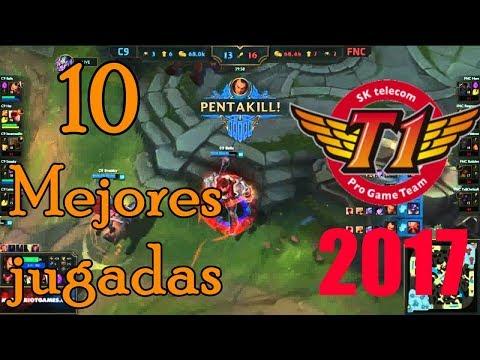 TOP 10 Mejores Jugadas Del 2017 League Of Legends