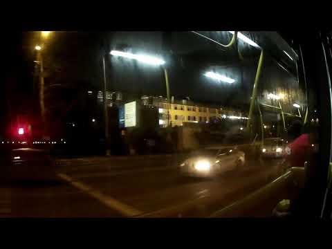 Поездка автобуса 346 станция метро Лермонтовский проспект - ВУГИ