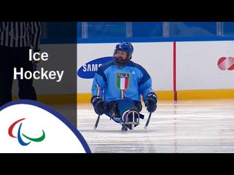Canada v Italy | Ice hockey | Preliminary Game | PyeongChang2018 Paralympic Winter Games