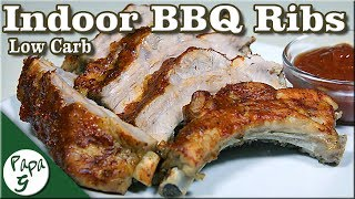 How To Make Indoor Low Carb BBQ Ribs Tender and Juicy