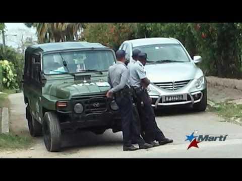 Policía cubana destruye casa de padres ancianos de Dama de Blanco