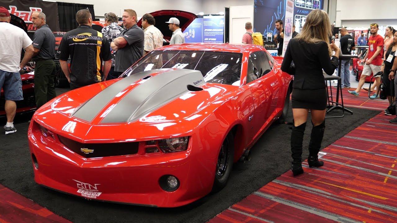 6th Gen Camaro >> Street Outlaws - Ryan Martin's Fireball Camaro at SEMA ...