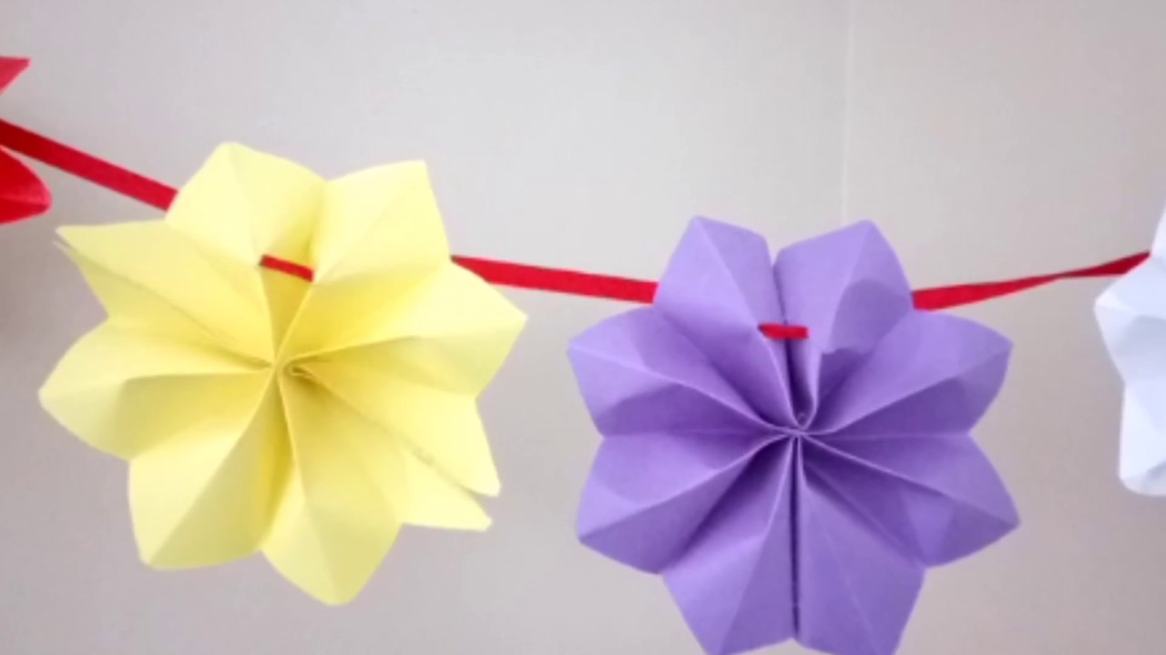 EASY STAR WALL HANGING - YouTube