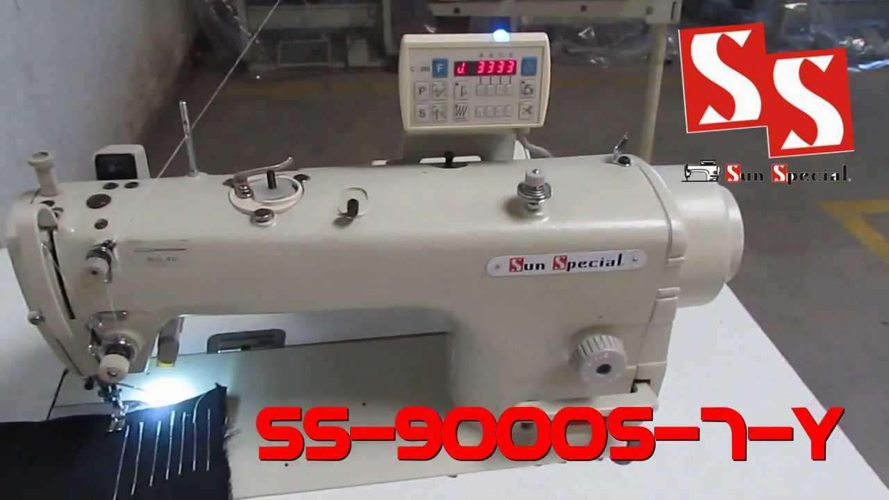 Máquina De Costura Industrial Reta Eletrônica Direct Drive Ss 9000s