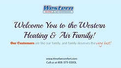 Welcome to Western Heating and Air Conditioning | Air Conditioner, HVAC, Furnace, TimeForComfort.com