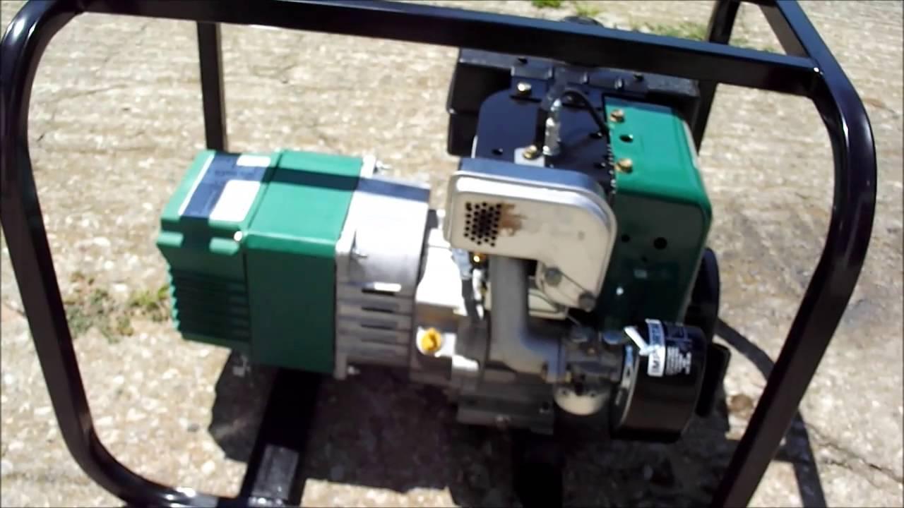Powermate 54 series generator Manual