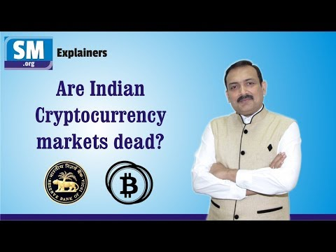 Cryptocurrency markets dead in India? - Explainer by Sandeep Manudhane
