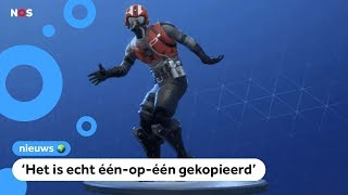 Gedoe over het dansje Swipe It in Fortnite