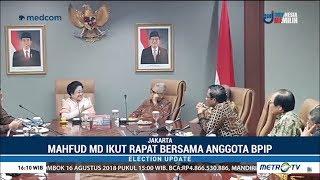 Mahfud MD Rapat Bersama Megawati Serta Anggota BPIP